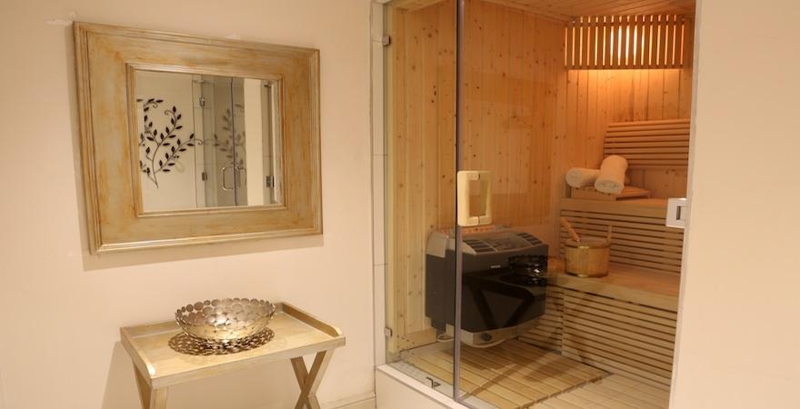 Fourways Health Renewal Sauna area
